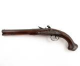18th Century Flintlock English Officer's Pistol Mitchell & Co. London - 2 of 6