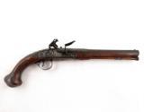 18th Century Flintlock English Officer's Pistol Mitchell & Co. London - 1 of 6