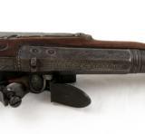 18th Century Flintlock English Officer's Pistol Mitchell & Co. London - 4 of 6