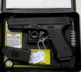 Glock Model 23 .40 Cal Auto Pistol w/ Night Sights & Orig Box - 2 of 3