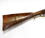 Contemporary Flintlock Kentucky Rifle by John Bivens Old Salem, NC - 4 of 11