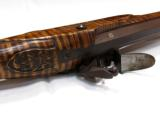 Contemporary Flintlock Kentucky Rifle by John Bivens Old Salem, NC - 7 of 11