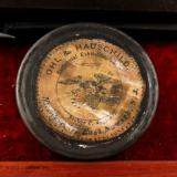 Antique Underhammer Percussion Target Pistol CM Loomis Box - 9 of 11