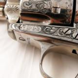 c.1888 Colt SAA Frontier Six Shooter .44-40 Revolver New York Engraved w/Letter - 5 of 12