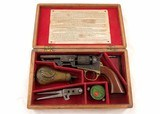 Colt Mod 1849 Pocket .31 Cal Revolver c.1865 w/Box & Accessories - 1 of 13