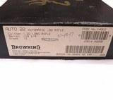 Nice Browning SA-22 Semi Auto Rifle w/Box - 9 of 9