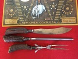 Winchester Deluxe Bone handled Carving Knife Set, Nicely Marked and Excellent Cond. - 4 of 4