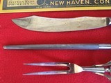 Winchester Deluxe Bone handled Carving Knife Set, Nicely Marked and Excellent Cond. - 3 of 4