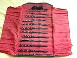 Rare! Remington Arms manufacture Drill Bit Set with 14 bits in Pouch - 5 of 5