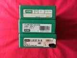 3 rcbs rifle reloading sets in .257,270 & 30/06 caliber
