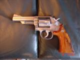 "Smith & Wesson 66-1,357mag,4"" Chicago Police Dept,125 years service,satin stainless,in case,1980 - 7 of 10"