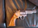 "Smith & Wesson 66-1,357mag,4"" Chicago Police Dept,125 years service,satin stainless,in case,1980 - 9 of 10"