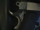 AMT Custom 1911 Government 45acp,deep scroll engraved all over,2 tone,full size barrel,bevelled mag well,beavertail grip safety,awesome 1 of a kind !! - 8 of 12