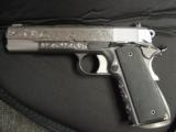 AMT Custom 1911 Government 45acp,deep scroll engraved all over,2 tone,full size barrel,bevelled mag well,beavertail grip safety,awesome 1 of a kind !! - 11 of 12