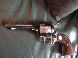 Colt Frontier Scout 22LR,75 year Wyoming Diamond Jubilee Commemorative,made in 1964,nickel with blue,4 3/4