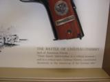 Colt 1911,World War 1 Series,4 gun set,all the same serial #2412,all engraved,in shadow boxes,unfired,custom grips,45acp,made in 1968,45 years old !! - 9 of 12
