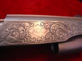 Colt Gold Cup National match 45,& Colt Ace 22lr kit,master engraved by Clint Finley,scrimshaw ivory grips,nickel,in wood case,a masterpiece - 10 of 12