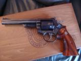 Smith & Wesson 19-4,California Hwy patrol Comm,in wood fitted case,50th Ann.,6