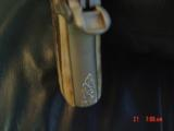 Colt Mustang Pocketlite 380,scroll engraved,real stag grips,holster,2 mags,Colt box & manual,original grips,Nickel/Stainless,a work of art !! - 8 of 15