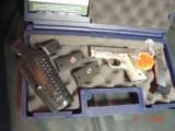 Colt Mustang Pocketlite 380,scroll engraved,real stag grips,holster,2 mags,Colt box & manual,original grips,Nickel/Stainless,a work of art !! - 12 of 15