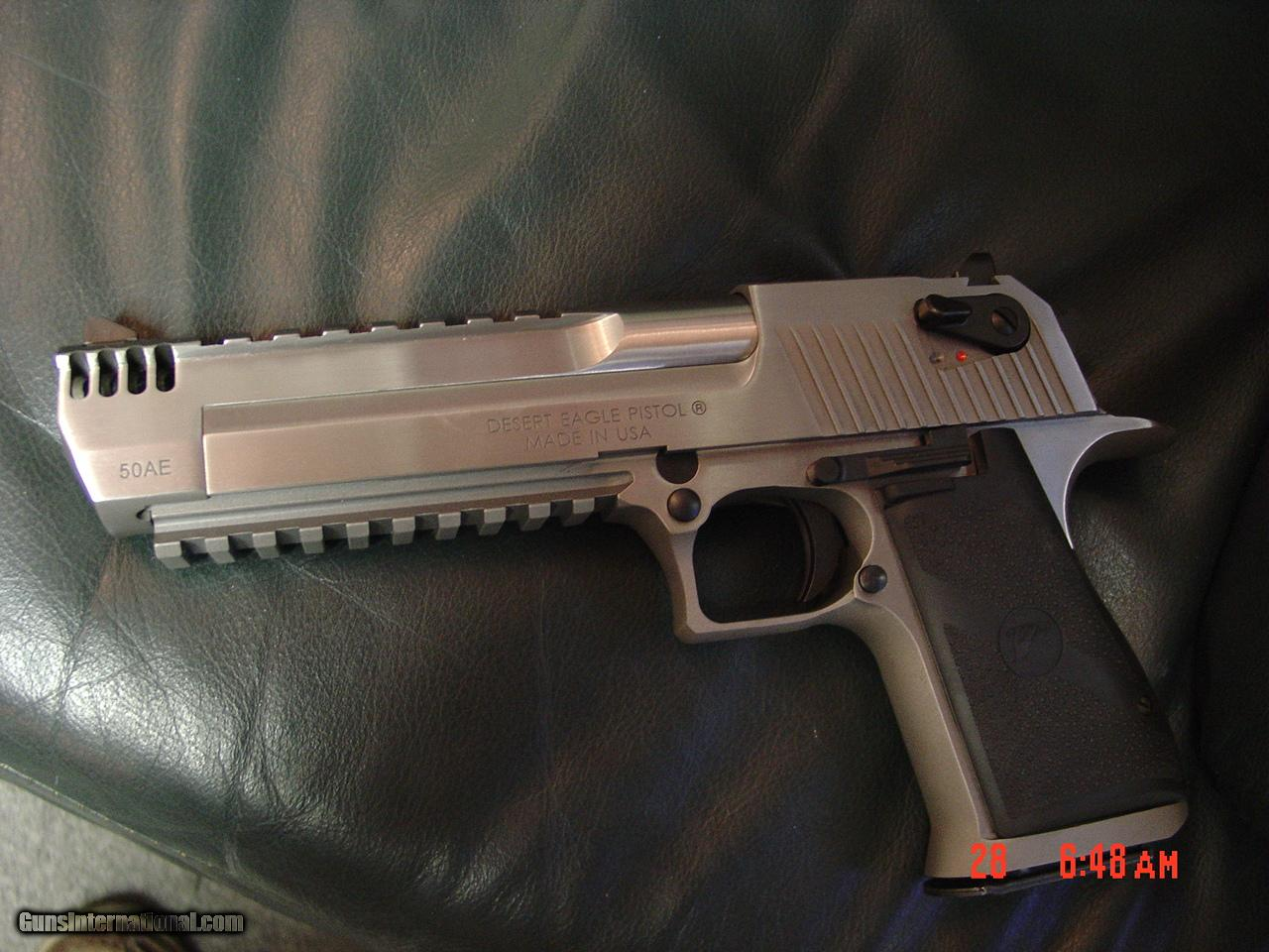 Desert Eagle -Magnum Research -RARE all stainless with built in COMP