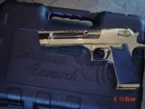 Desert Eagle/Magnum Research,50AE,Titanium Gold,high polished hand cannon,NIB,awesome showpiece !! - 11 of 15