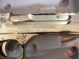 Desert Eagle/Magnum Research,50AE,Titanium Gold,high polished hand cannon,NIB,awesome showpiece !! - 6 of 15