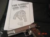 LAR Grizzly MK I,45 Win Mag,custom hard chrome finish,5 1/2