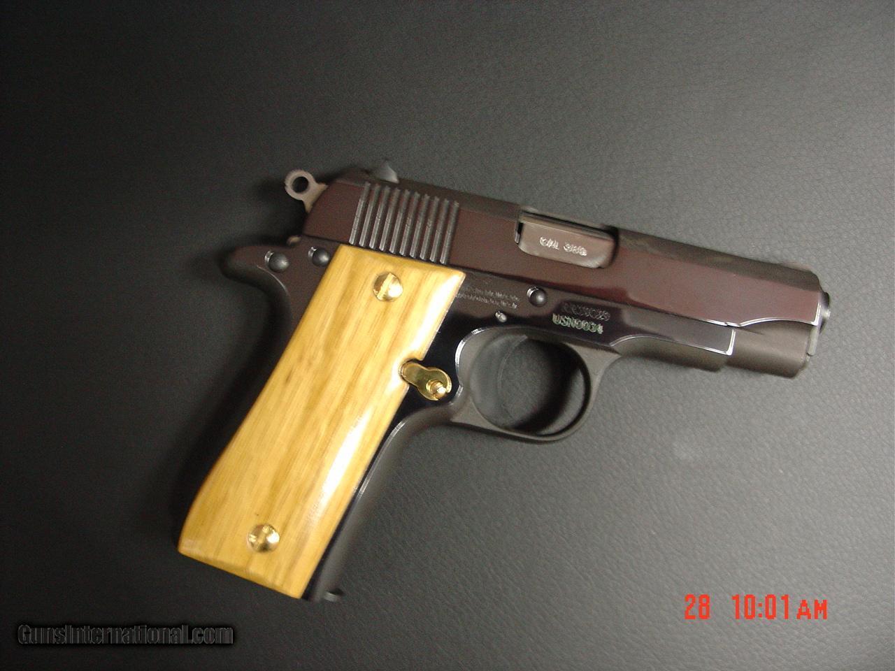 Colt 45 Manual 1996 Yfb250 Timberwolf Wiring Diagram Exploded Array Mustang 380 Us Navy Commemorativehigh Gloss Gold U0026 Bluebamboo Rh Gunsinternational Com