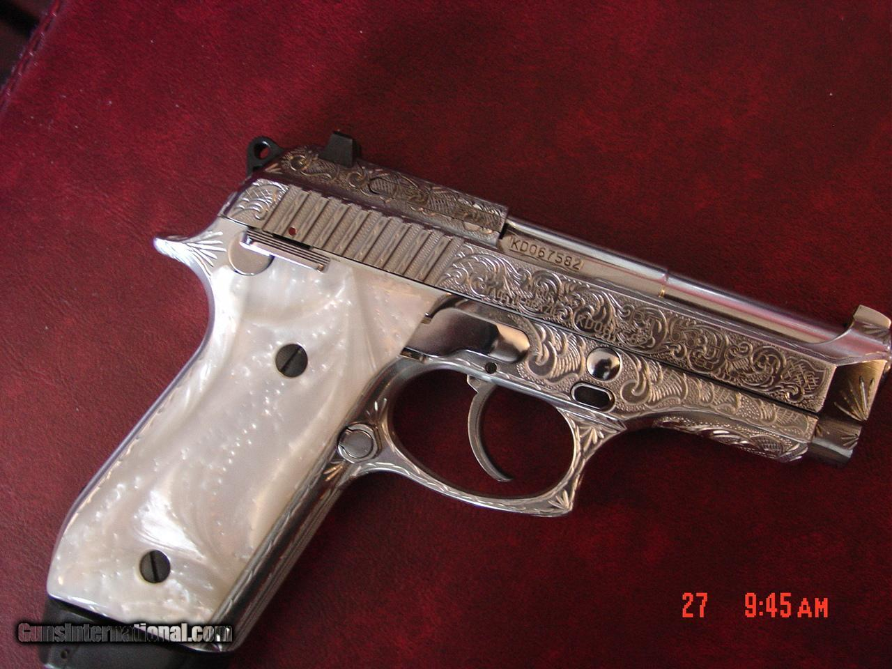 Taurus PT58HC Plus, rare 19 round 380, fully engraved & polished by