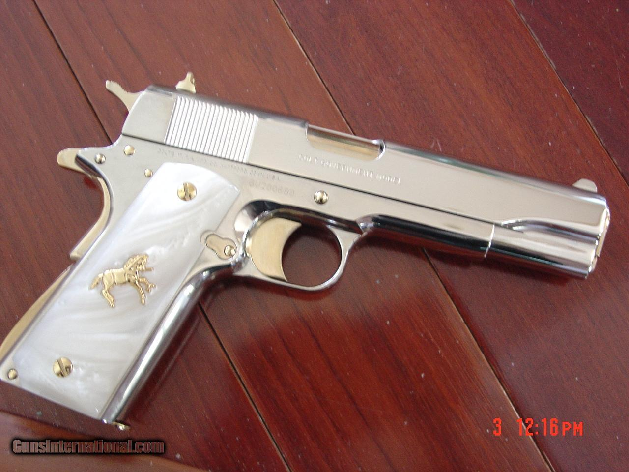 Colt Government 1911 Series 80 Just Fully Refinished In