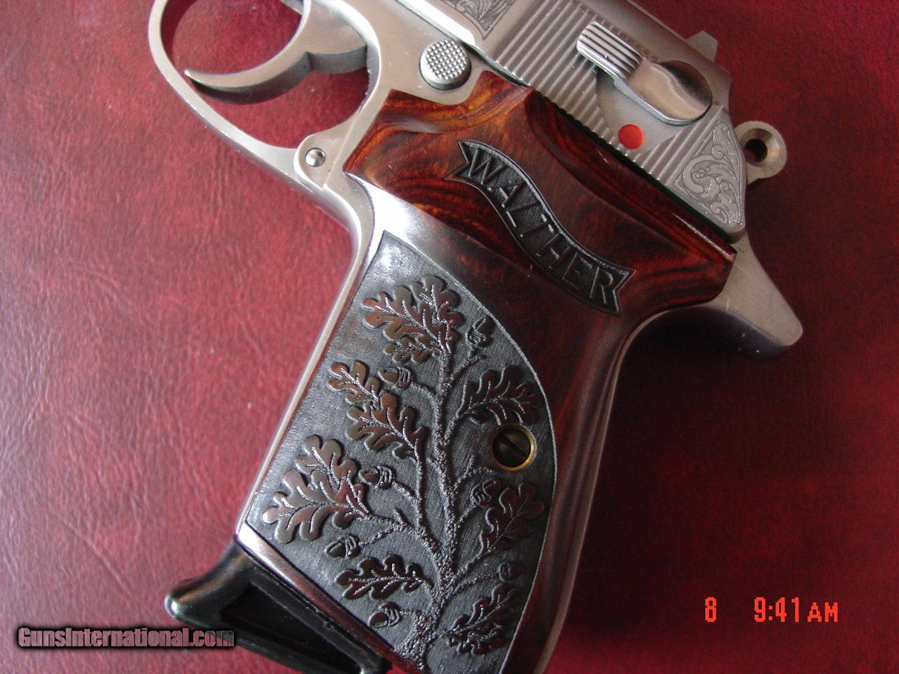 ... Walther PPK/S, 1 of 400 Premier,380,Engraved with Gold eagle ...