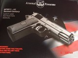 Arsenal Firearms double barrel, rare 9mm,16 shots,blue,2 mags,walnut grips,5