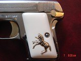 Colt 1908 Vest Pocket 25ACP, just refinished in nickel
