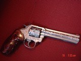 """Colt King Cobra 6"""",fully engraved & polished by Flannery Engraving,Rosewood grips,awesome engraving, certificate,work of art !!"""
