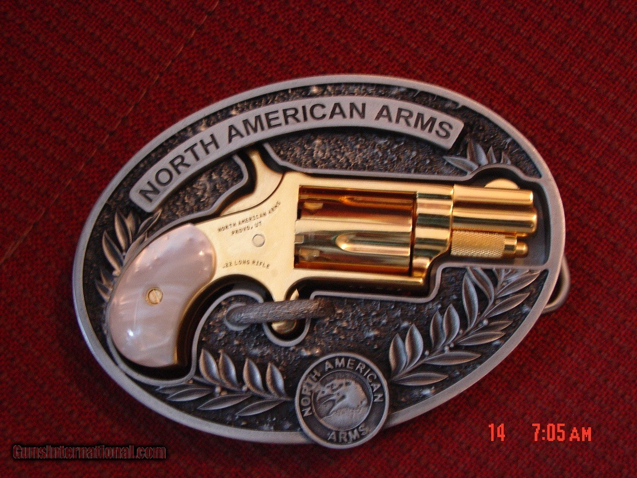 North American Arms,Golden Eagle Ltd Edit  24K gold plated