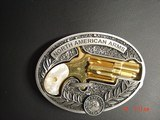 """North American Arms,Golden Eagle Ltd Edit. 24K gold plated,pearl grips,metal safe,22LR,1 1/8"""" barrel,manual,box,etc,5 shots,awesome rare revolver - 15 of 15"""