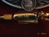 """North American Arms,Golden Eagle Ltd Edit. 24K gold plated,pearl grips,metal safe,22LR,1 1/8"""" barrel,manual,box,etc,5 shots,awesome rare revolver - 6 of 15"""