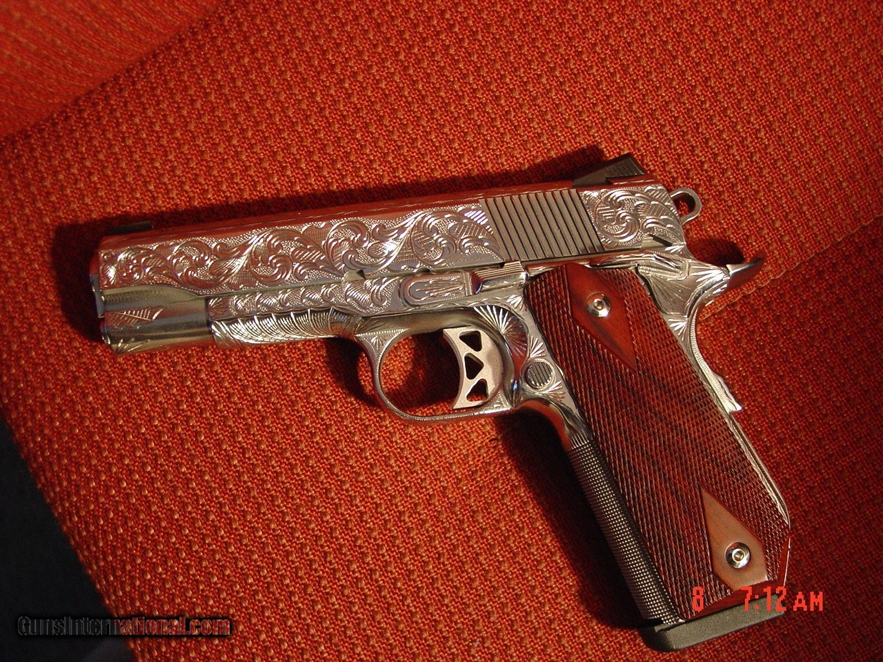 Dan Wesson 1911 Commander Bobtail 45acp,fully engraved