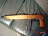 """Iver Johnson/Universal Enforcer 3000, 30 carbine,11 1/4"""" barrel,19"""" overall,30 round mag,walnut stock,pistol grip,close to 40 years old- awe - 8 of 15"""