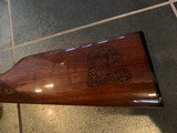 Winchester model 94 30-30 Butte County SD A&A master engraved, 24k gold plated, & nickel.certificate, PROOF gun - 5 of 12
