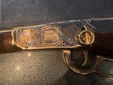 Winchester model 94 30-30 Butte County SD A&A master engraved, 24k gold plated, & nickel.certificate, PROOF gun