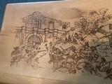 Colt Commemorative-The Alamo,never fired,22LR,wood case,24k gold & high gloss blue,engraved backstrap - 8 of 10