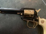 Colt Commemorative-The Alamo,never fired,22LR,wood case,24k gold & high gloss blue,engraved backstrap - 3 of 10