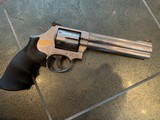 Smith & Wesson 686-6,engraved,NASCAR Edition,very rare,357 Mag,gold car & #30 inlays,model car,wood case,box, & manual etc.