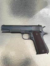 1942 Colt 1911A1 with Colt letter and holster