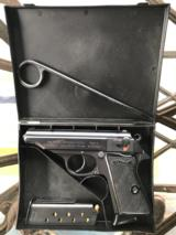 Post War Walther PP in .32 ACP With Box