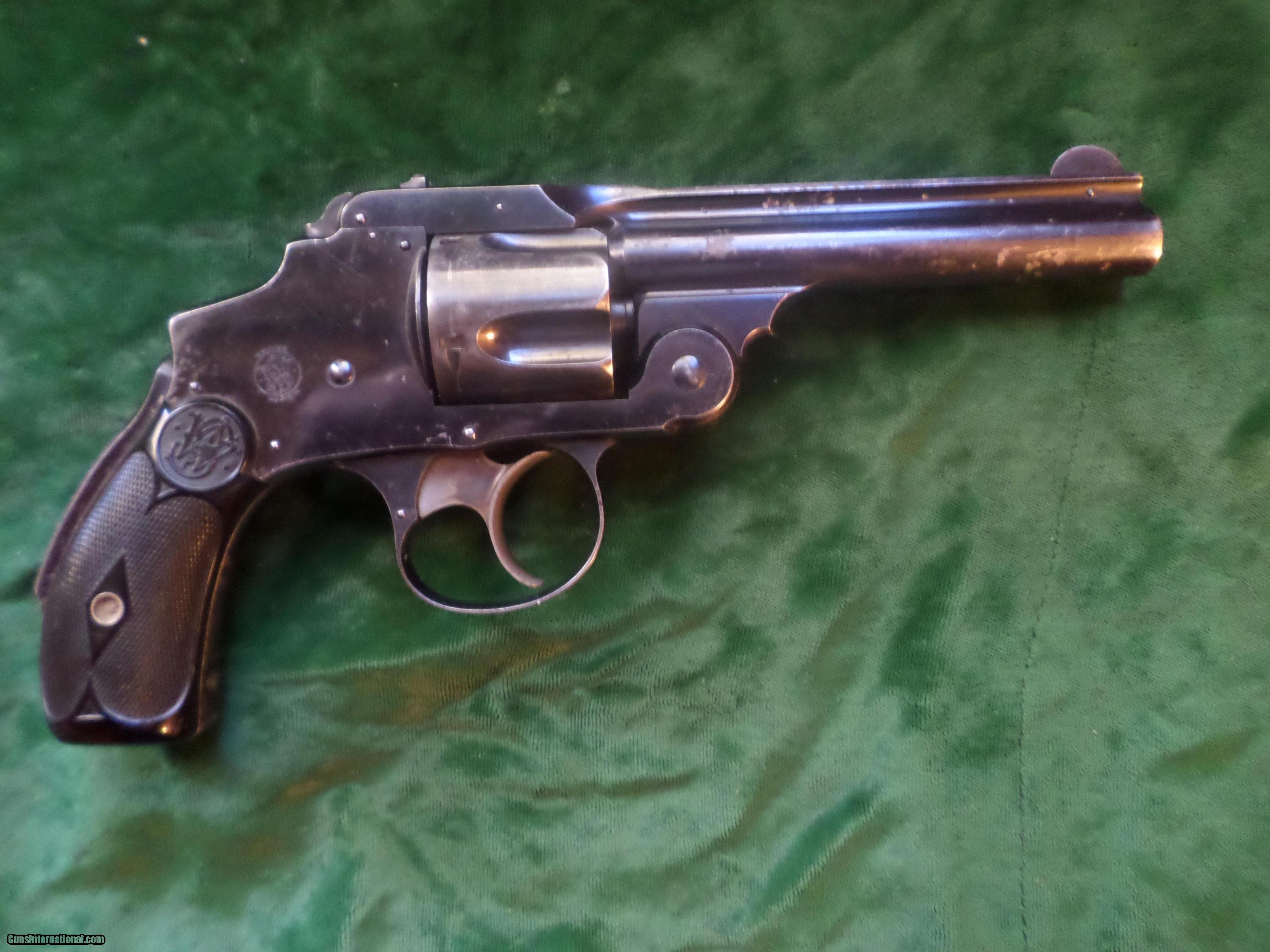 Smith & Wesson Safety Hammerless (New Departure) 38 S&W 4