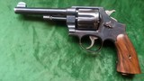 "Smith & Wesson mod. 1917 WWI 45 ACP 95% blue. 5 1/2"" Bl."