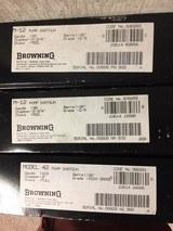 Browning Model 12 (20+28), Model 42 (410) 6 gun SET 3-Grade V, 3-Grade I NIB Same #